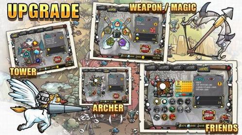 卡通防御战4安卓下载