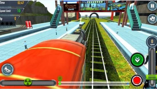 模拟火车和谐号下载